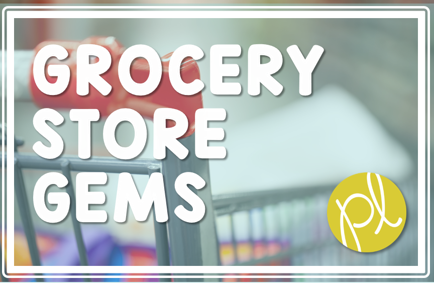 Finding teaching supplies at the grocery store! I'm sharing my latest grocery store gem for math from Positively Learning Blog