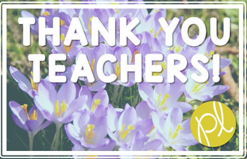 Teacher Appreciation Thank You Gift Free Punctuation Power download from Positively Learning Blog