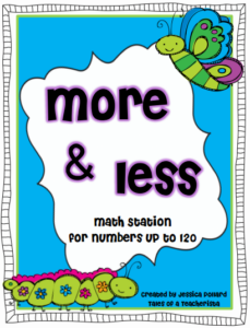 TPT Treasures Part 3: More and Less