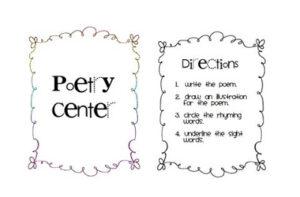 Poetry Center Freebie