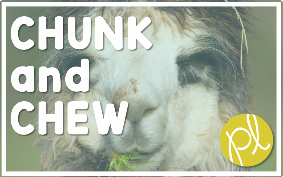 Chunk and Chew Differentiation Strategies from Positively Learning Blog