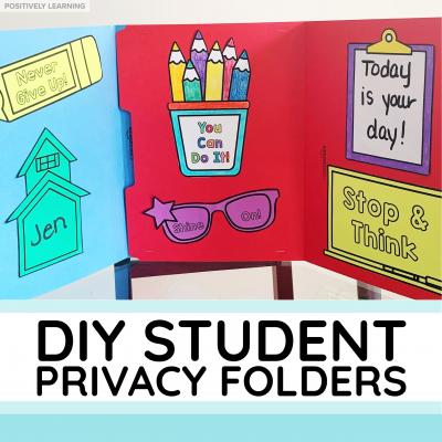Student Privacy Folders