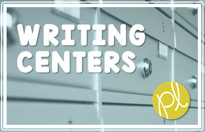 The easiest writing center - perfect for Guided Reading Daily 5 Work on Writing! Free download from Positively Learning Blog