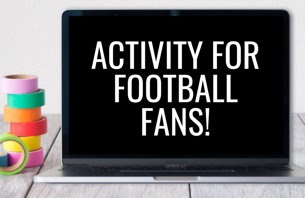 free football literacy activity