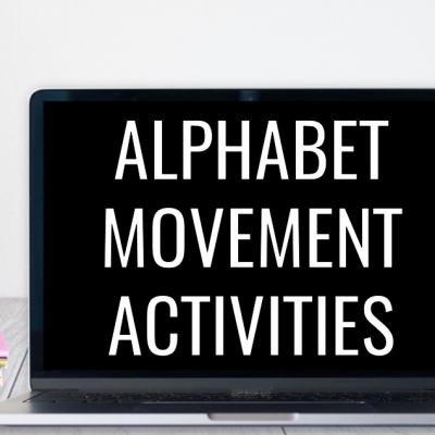 Alphabet Movement Activities