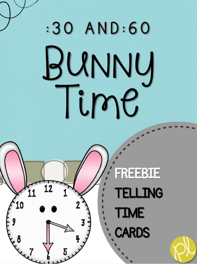 Bunny Time Freebie by Positively Learning