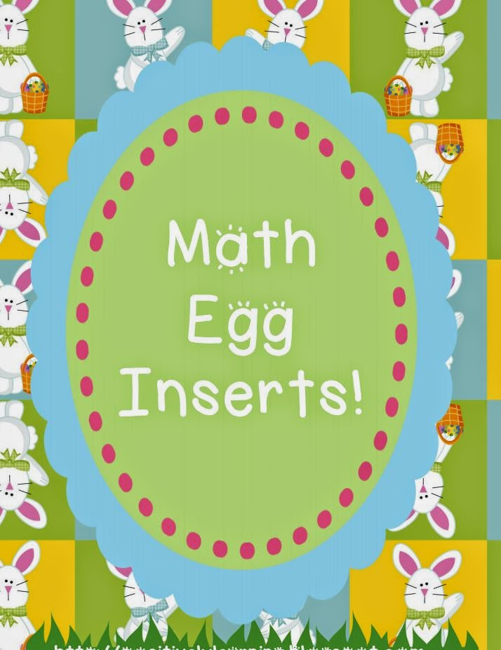 Positively Learning Blog Easter Eggs for Math