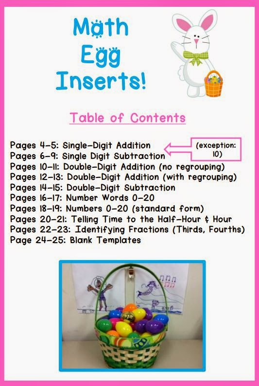 Math Easter Eggs from Positively Learning