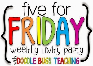 5 for Friday: News!