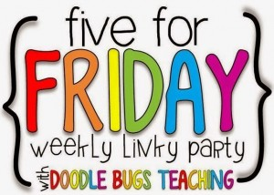 Five for Friday: Giveaways!