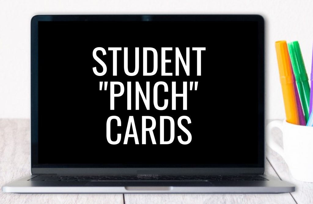 Pinch Cards - looking to increase student engagement? Pinch Cards are not only a fun way for students to participate, you can also learn A LOT about student understanding. Read more about how to use student response cards in your groups at school or online. #studentengagement #pinchcards #studentresponsecards