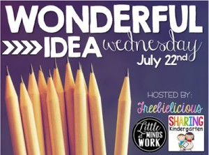 Wonderful Idea Wednesday!