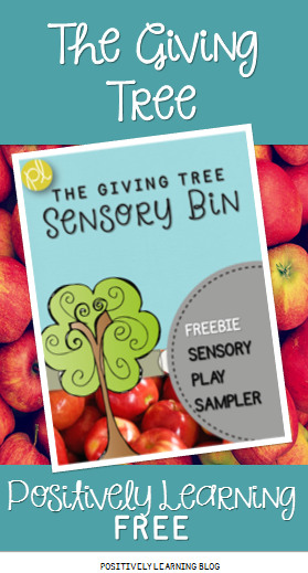 ositively Learning Blog The Giving Tree Apple Freebie