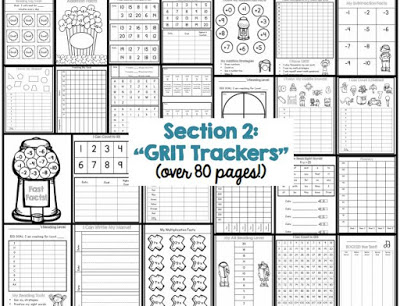 Positively Learning Grit Trackers