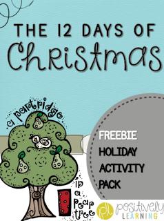 Free Christmas activities for the classroom from Positively Learning