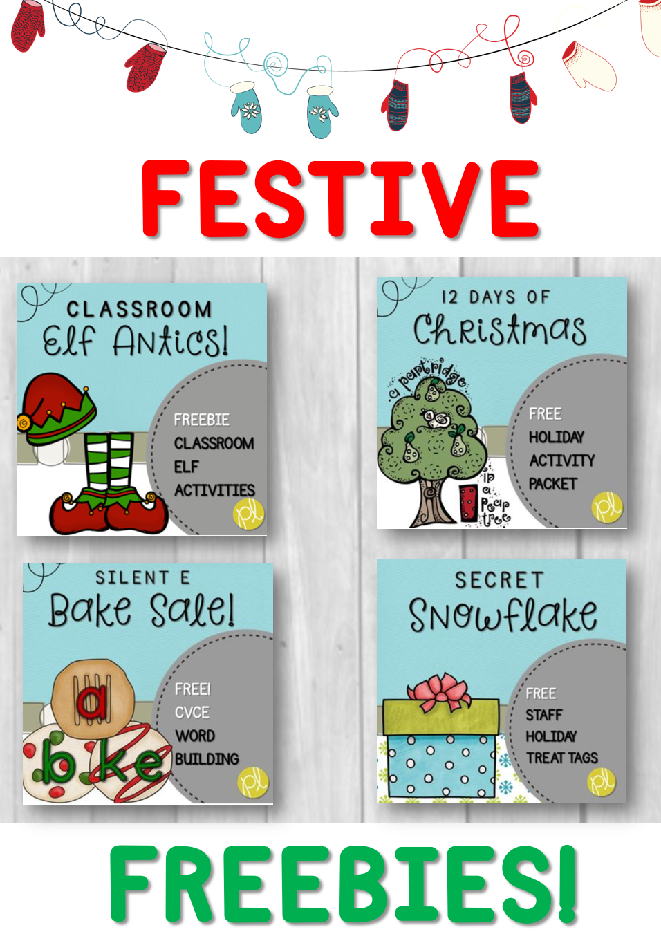 Festive Teaching Freebies!