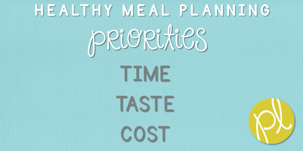 Healthy Meal Planning