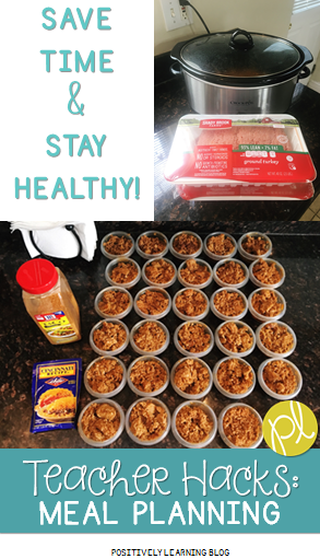 Positively Learning Teacher Hacks Healthy Meal Planning