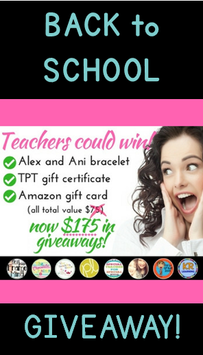 Back to School Teachers Giveaway