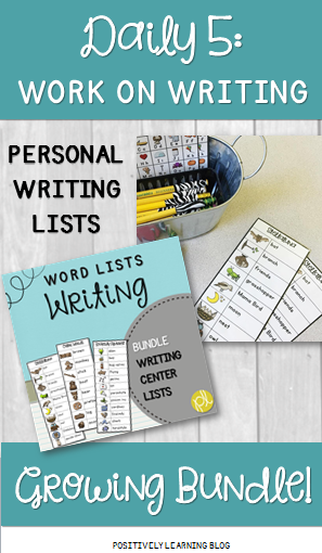 Positively Learning Blog: Personal Writing Lists for Writing Centers