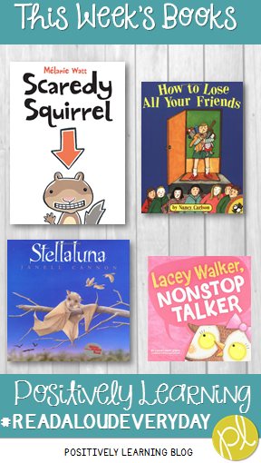 Positively Learning Blog: September Read Aloud Books
