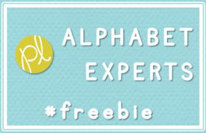Vintage Post: Alphabet Freebie!