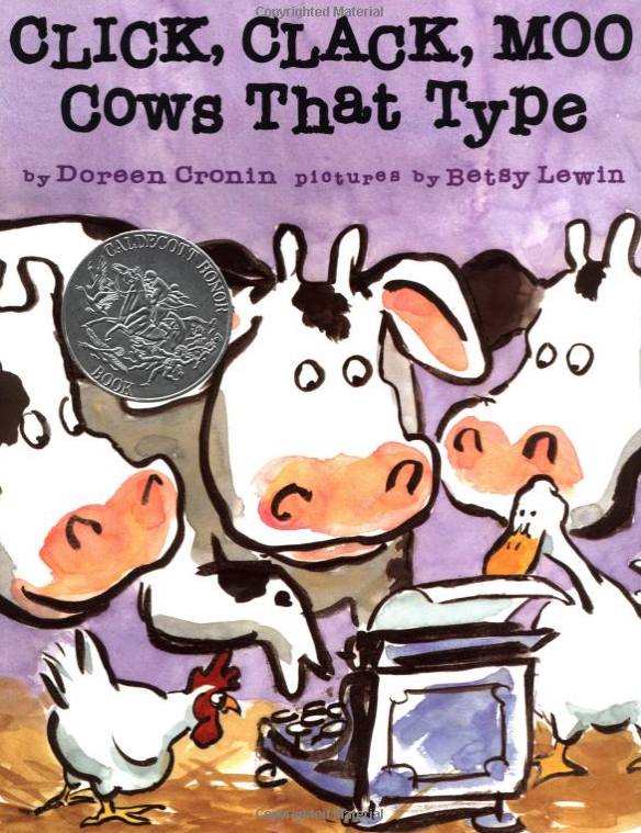 Positively Learning Click Clack Moo Cows That Type