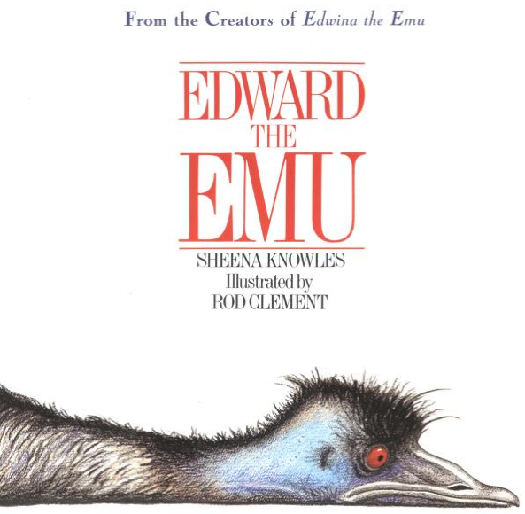Positively Learning Blog: Edward the Emu