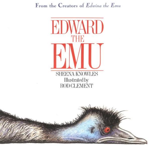 Positively Learning Blog: Edward the Emu