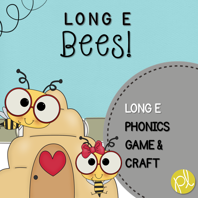 Positively Learning Long E Bees Phonics Game