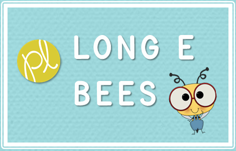 Positively Learning Blog Phonics Long E Bees Game and Craft