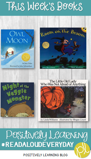 Positively Learning Spooky Read Alouds