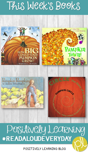 Positively Learning Blog: Pumpkin Time Books!