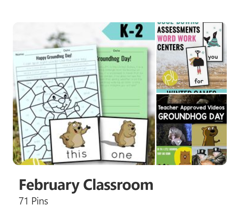 Guided Reading Groundhog Day ideas and activities for first grade small groups and learning centers!