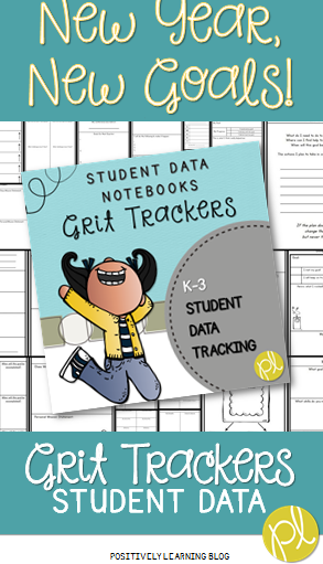 Positively Learning Blog Grit Trackers for setting goals in the new year