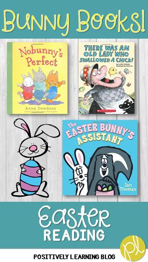Positively Learning Blog Easter Read Aloud Books