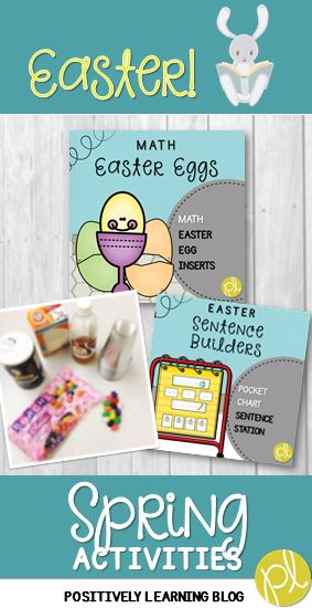 Activities for Easter from Positively Learning Blog