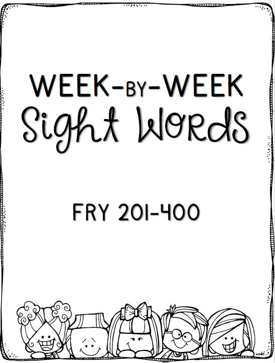 Free Sight Word Practice from Positively Learning Blog