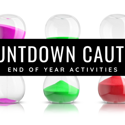 Countdown Caution at the End of the Year