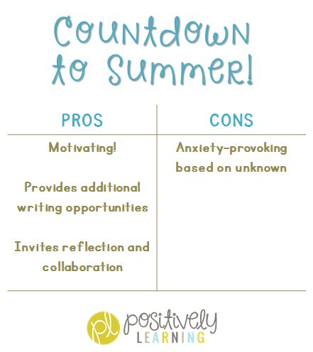 Countdown to Summer in the Classroom