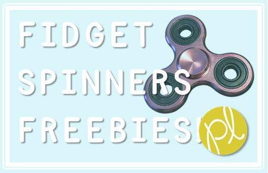 Positively Learning Blog Fidget Spinners Free