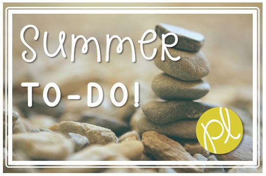 Positively Learning Free Summer To Do List