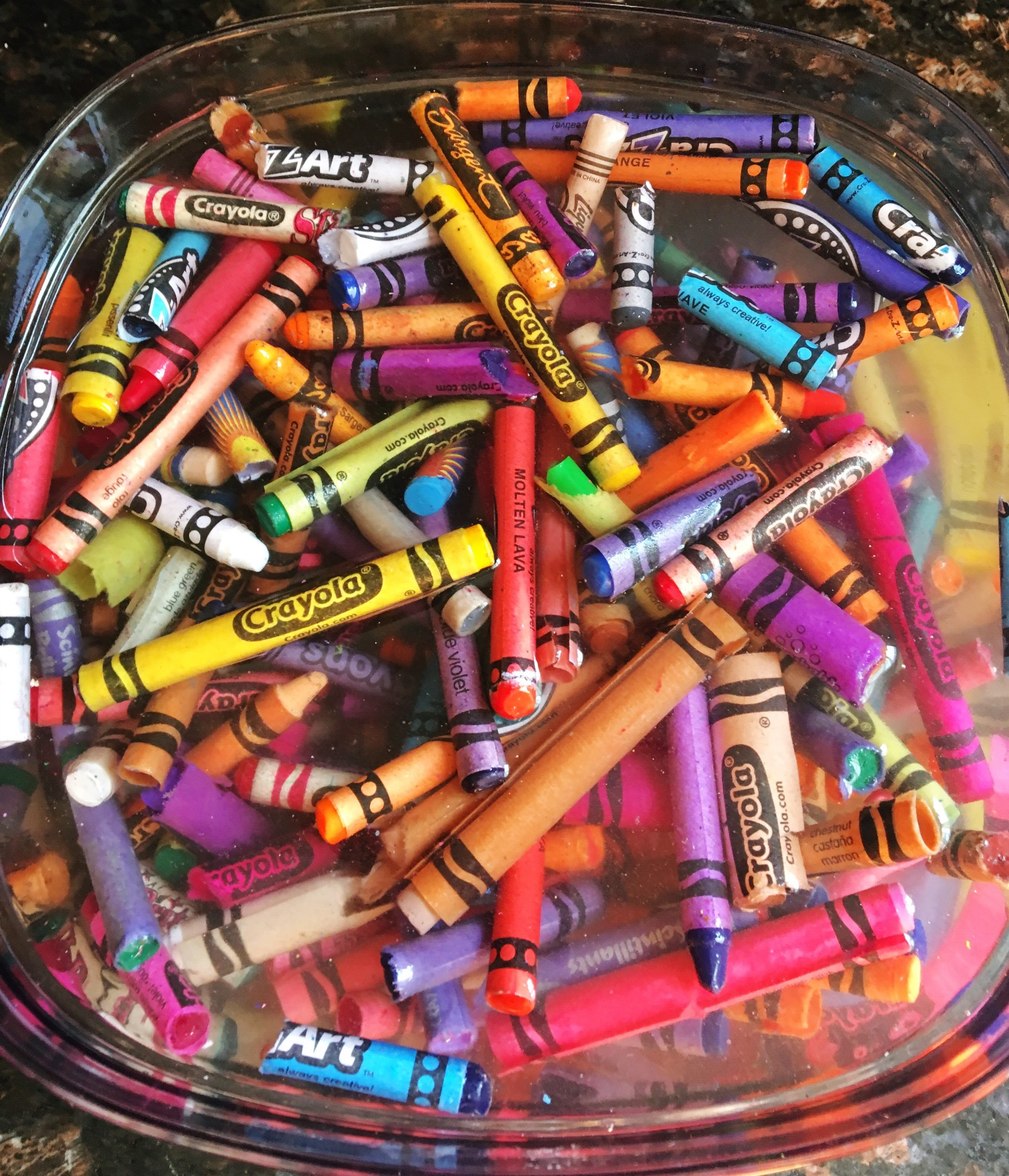 Positively Learning Blog How to Make Crayons from All Your Broken Crayons!