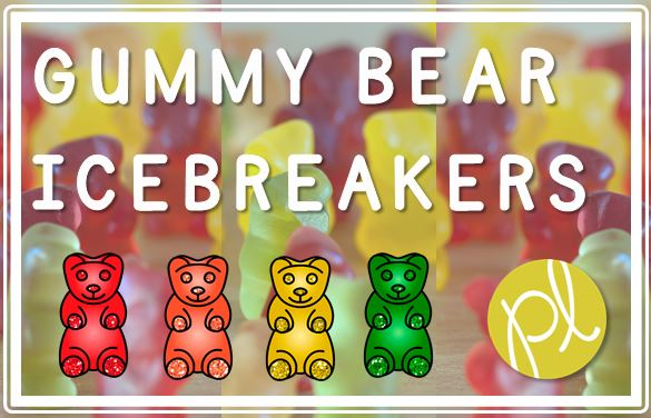 Positively Learning Blog Free Gummy Bear Icebreaker Activity for Back to School