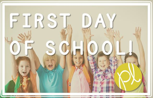 First Day of School! Positively Learning Blog