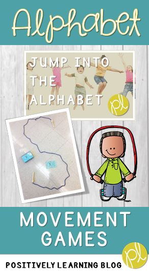 Movement Games for Learning the Alphabet by Positively Learning Blog