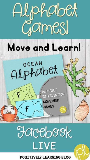 Positively Learning Alphabet Movement Games