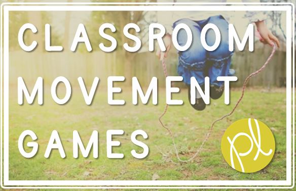 Positively Learning Blog Movement Games for Classroom Learning
