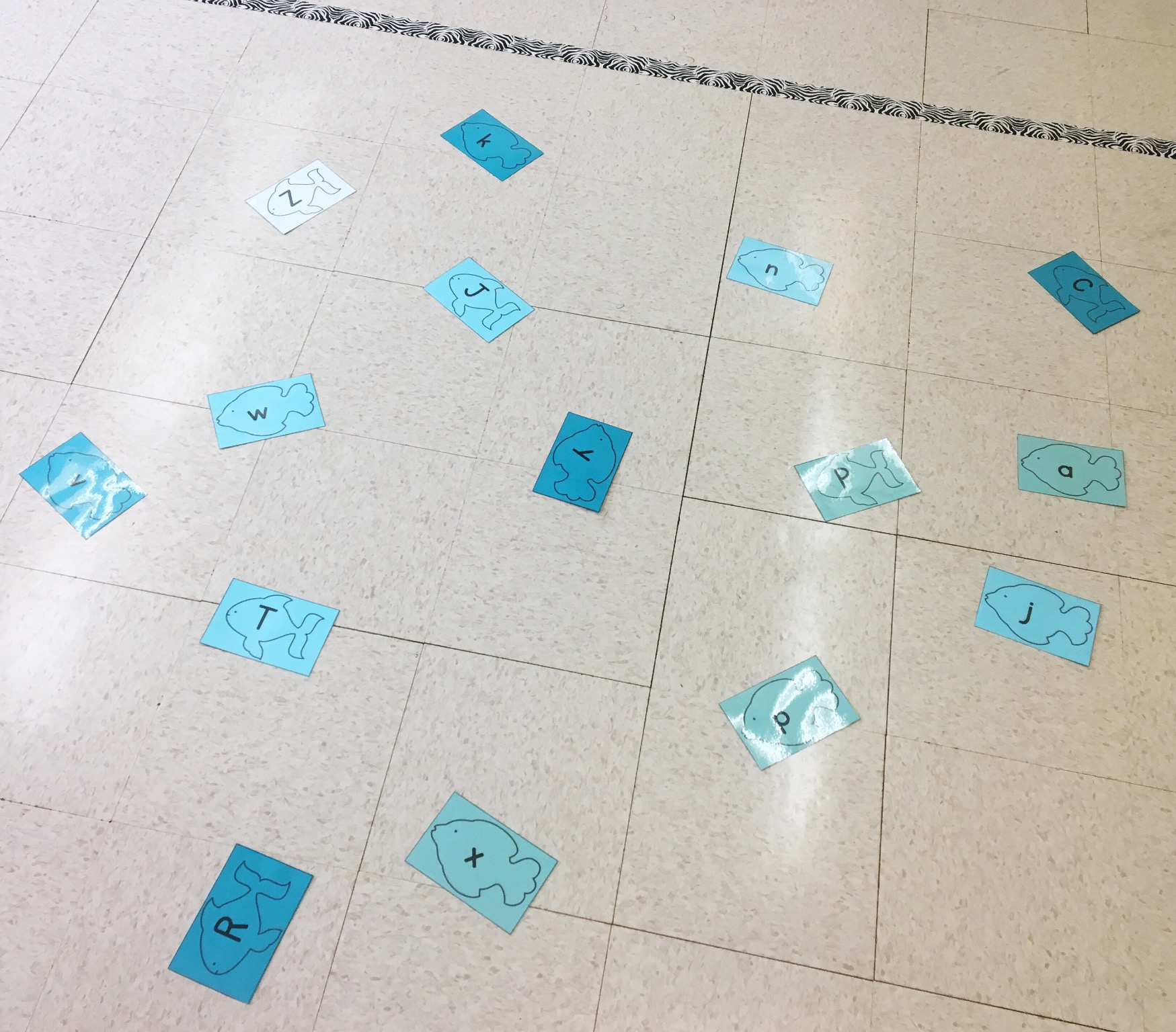Positively Learning Blog Alphabet Movement Game for Intervention
