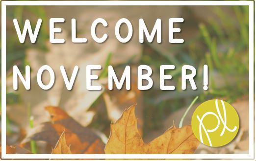 Positively Learning Blog Welcome November